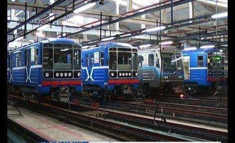 Капитальный ремонт прошли вагоны 5 составов нижегородского метро