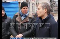 Строительство детского сада проинспектировал мэр Владимир Панов