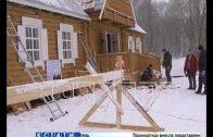 Дом Деда Мороза превратился в домик для моржей