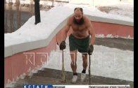 Бегом от вирусов — 52-летний предприниматель в трусах по морозу гонится за иммунитетом