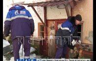 Чтобы выселить семью из аварийного дома, им перекрыли газ и отопление