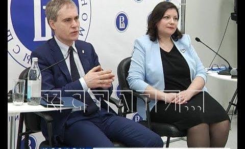 Мэр Нижнего Новгорода встречался сегодня с нижегородскими студентами
