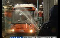 Дезинфекцию от коронавируса начали в нижегородских автобусах