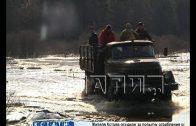 Паводок на Ветлуге отрезал поселок имени Михеева