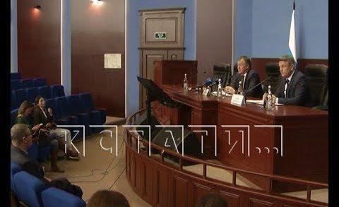 Председатель Нижегородского облсуда провёл пресс-конференцию по итогам 2019 года