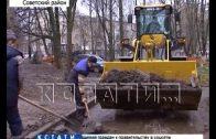 Весеннюю уборку города начали нижегородские коммунальщики