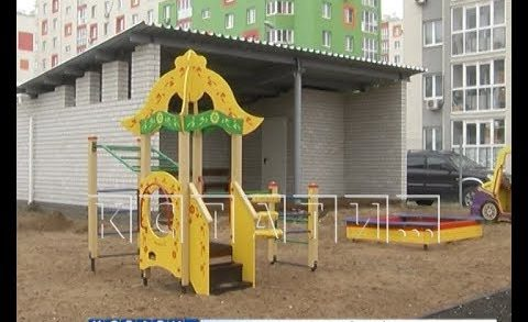 Всего неделя осталась до ввода в эксплуатацию детского сада в микрорайоне Бурнаковский