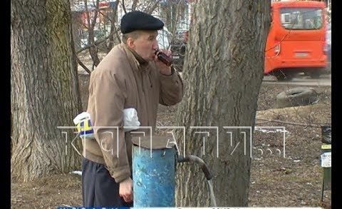 Злачные места Сормовского района вырубают под корень топором и бензопилой