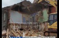Дом, обрушивший Похвалинский съезд, снесли в Нижнем Новгороде