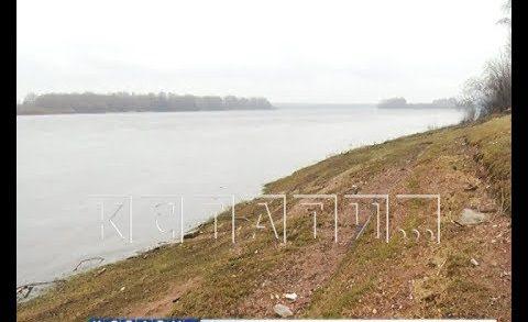 Неожиданное понижение воды в Волге вместо паводка зафиксировали рыбаки