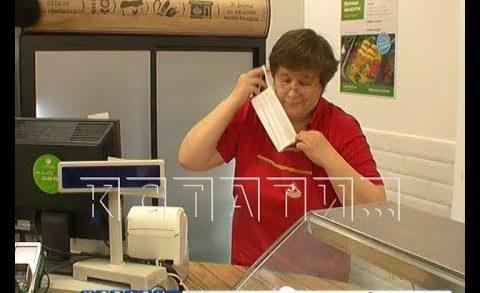Работающие продавцы не хотят соблюдать правила санитарной безопасности