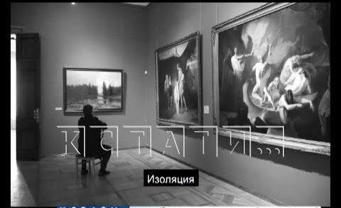 Директор художественного музея снял видеоклип о картинах в изоляции