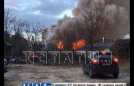 Два расселенных дома сожжены в центре Нижнего Новгорода