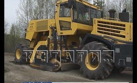На севере Нижегородской области стартовала компания по ремонту дорог