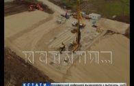 Строительство грандиозной автомобильной развязки началось в деревне Ольгино