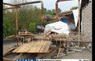 Взрыв газа в котельной в Перевозе снес стену пристроя к дому