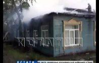 Неизвестные подожгли поликлинику в Борском районе