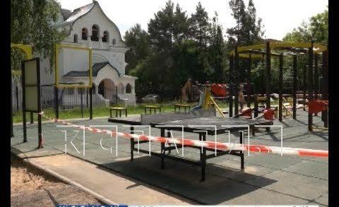 Парки и скверы начали ремонтировать в Нижнем Новгороде