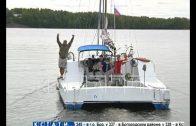 Самоизоляция мечты — пенсионер с друзьями отправился в путешествие на самодельной яхте