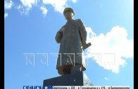 Частный участок под памятное место отдал житель Бора и поставил памятник Иосифу Сталину