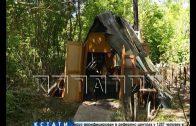 Из-за потенциального пожара жительницу Ворсмы хотят лишить единственного самодельного жилья