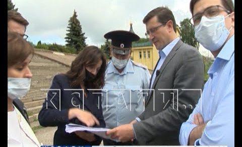 Объезд канавинских «джунглей» устроил губернатор Нижегородской области