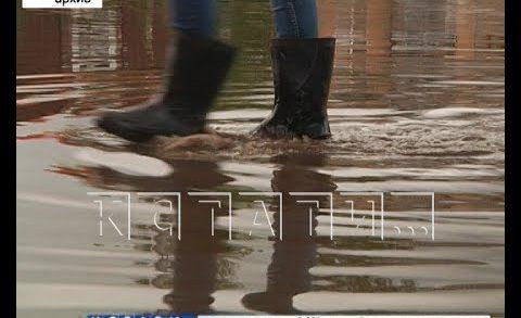 Проблему затопленных улиц в верхней части города решат с помощью реконструкции ливневки