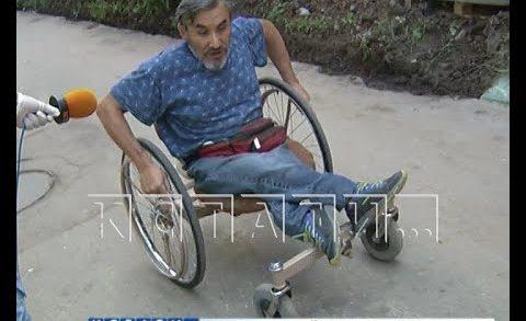 Инвалид разработал коляску, позволившую ему путешествовать по стране без чьей-либо помощи