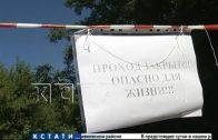Охотники за цветметом по ошибке украли ртуть с завода и разлили ее по улицам Ворсмы