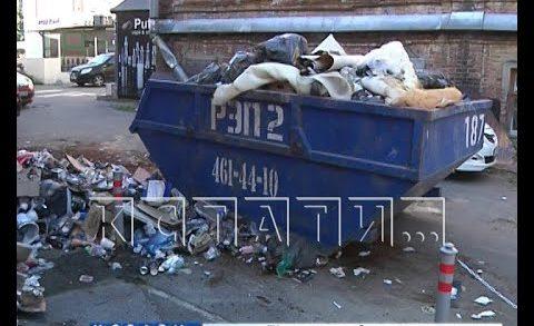 Районные чиновники объяснили, почему месяц не замечали свалку на главной улице Нижнего Новгорода