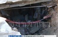 Халатность подрядчиков спровоцировала оползень рядом с элитной новостройкой