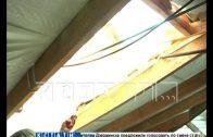 Капитальный ремонт оставил жителей без крыши более чем на полгода