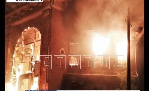 Объект культурного наследия — охотничий домик Баташевых — уничтожен после поджога