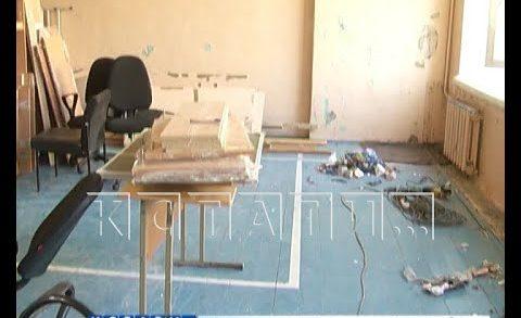 Сроки окончания ремонта старейшей школы Нижнего Новгорода сорваны в третий раз