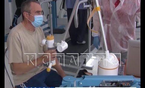 Новое современное отделение реабилитации открыто в больнице имени Семашко
