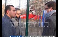 Подрядчик будет устранять недостатки, которые выявили после благоустройства сквера на улице Усилова
