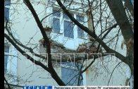 Из-за бездействия коммунальщиков в доме на Набережной рухнул балкон