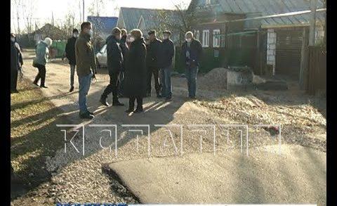 Половинчатая мера — в селе Красное дорогу построили только для половины улицы