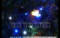 Как украшают город к Новогодним праздникам проверяли в Приокском районе