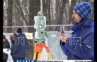 Комиссия общественников и Управления охраны культуры проверяет ход реставрации парка «Швейцария»