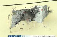Неизвестные из неустановленного устройства прострелили стену 4-этажного дома в поселке Новинки