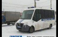 После перекрытия дороги предпринимателями, на Карповском рынке охраняют порядок бойцы ОМОНа