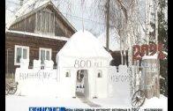Копию Нижегородского Кремля построил в селе Никольское местный житель