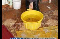 Комплексный потоп после ремонта дома ДУК и Фондом капремонта обрушился на жителей
