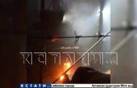Нелегальный мусоросжигательный завод по ночам отравляет воздух под Кстовом