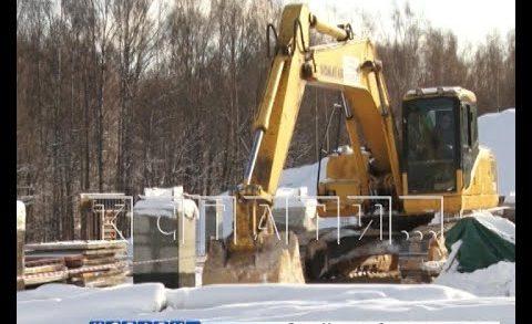 Новые очистные сооружения строят в Вачском районе