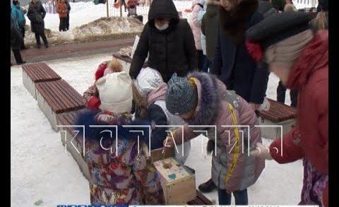 День птиц отметили в новом сквере в Автозаводском районе