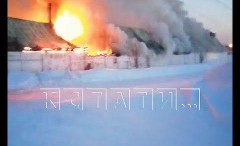 Два пожара в Оранском мужском монастыре — сгорели ферма и конюшня