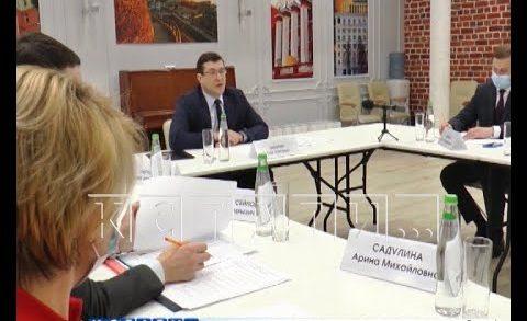 Глеб Никитин провёл встречу с участниками программы «Мастера госуправления»