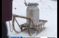 Из-за перемерзших труб жители деревень Семеновского района остались без водопровода